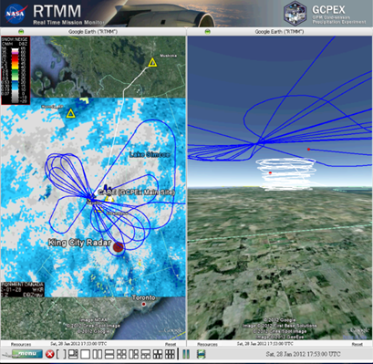 The RTTM uses Google Earth