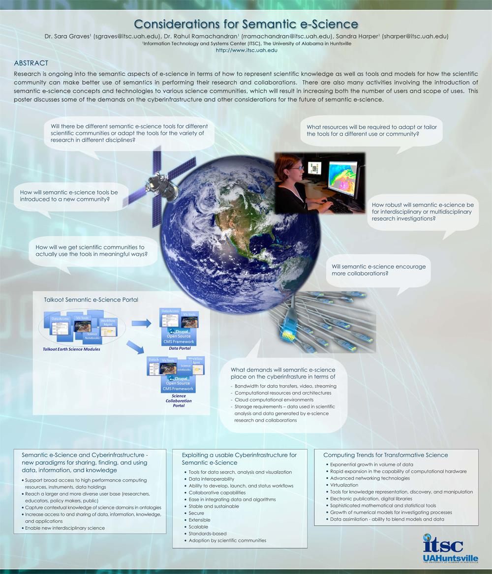 semantic e science poster