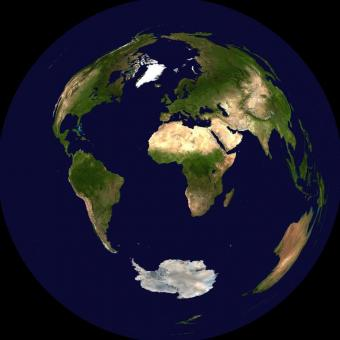 The Gott-Mugnolo azimuthal projection