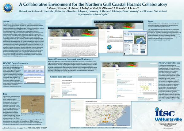 Coastal Hazards poster