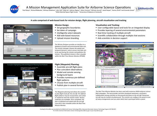 Mission management tools poster