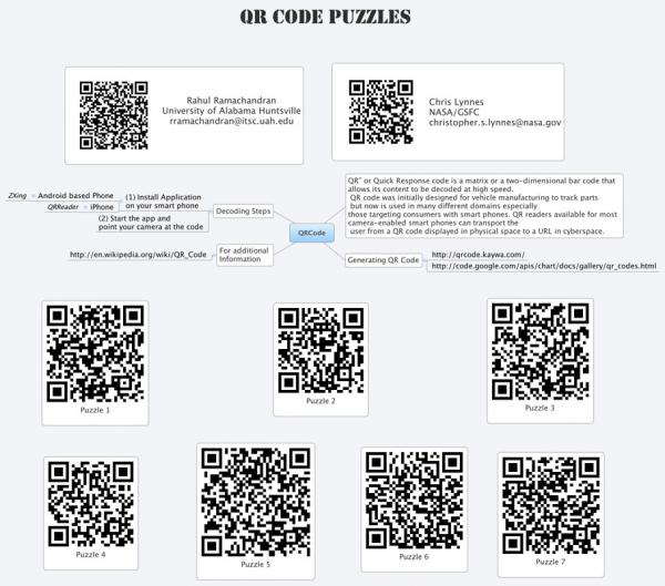 QR Code Puzzles poster