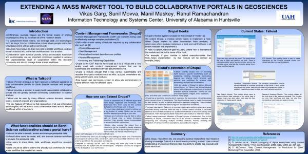 Extending Talkoot poster