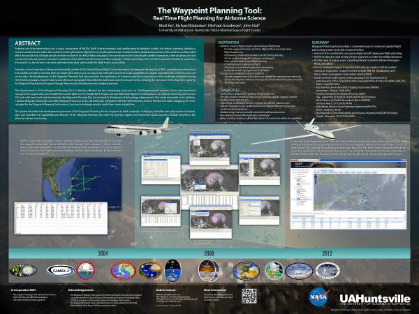 The Waypoint Planning Tool enables scientists to develop flight plans