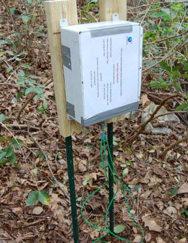 Deployed Wireless Sensor for Monitoring Landslide Conditions