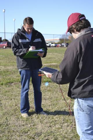 Researchers Testing Solar Panels Powering Wireless Sensors