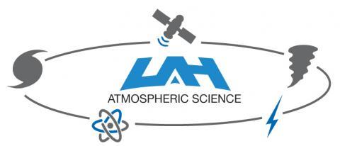 UAH Atmospheric Science logo