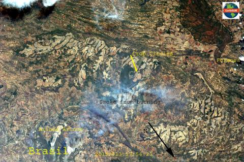 First EarthKAM Image: Mission 50