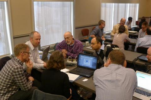Ken Keiser at the NSF EarthCube workshop