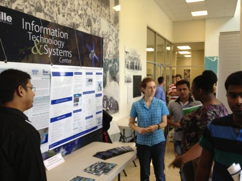 ITSC students explain their research efforts