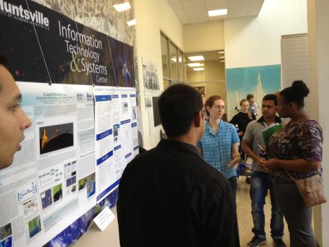 GHRC students explain their research efforts