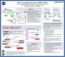 ISO Lineage Metadata poster
