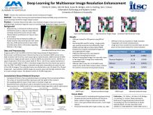 Deep Learning for Multisensor Image Resolution Enhancement (11th Annual Science & Technology Jamboree 2017)