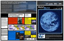 Art-inspired Presentation of Earth Science Research (AGU Fall Meeting 2016)