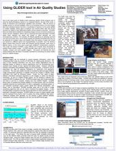 GLIDER use in air quality studies poster