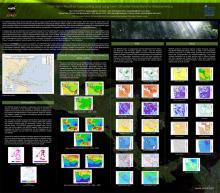 Mesoamerica climate forecast poster