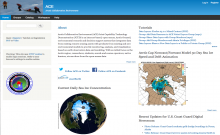 Image of the ACE Project Website